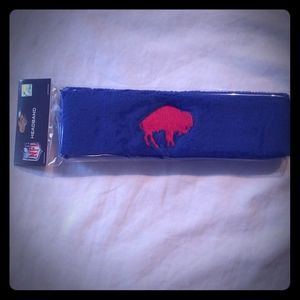 Buffalo Bills Retro Vintage Headband NWT